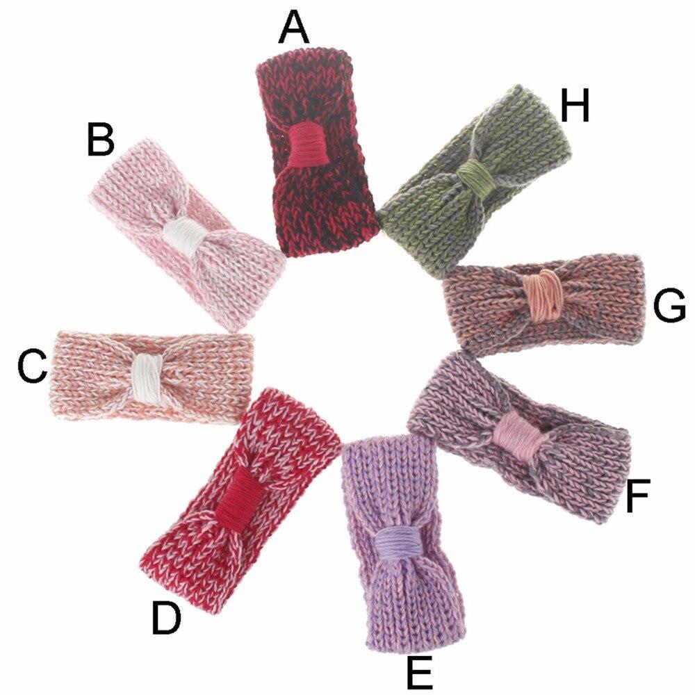 Nudo bebe chica invierno crochet recién nacido abrigo punto arco del ...