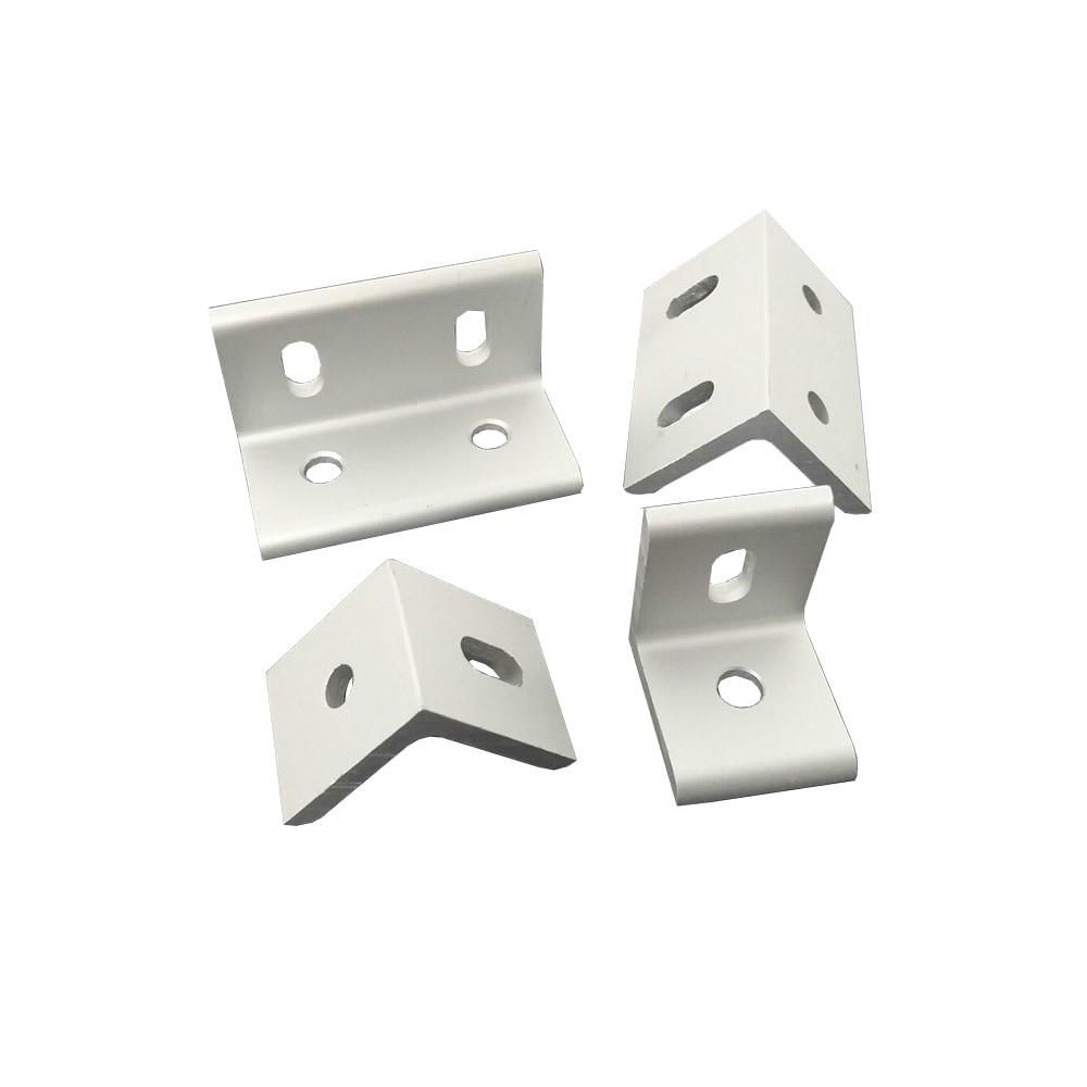 1 Stücke 3030/4040/6060/8080 Einstellung Stecker Ecke Winkel Halterung Anschluss Joint Für Aluminium Profil