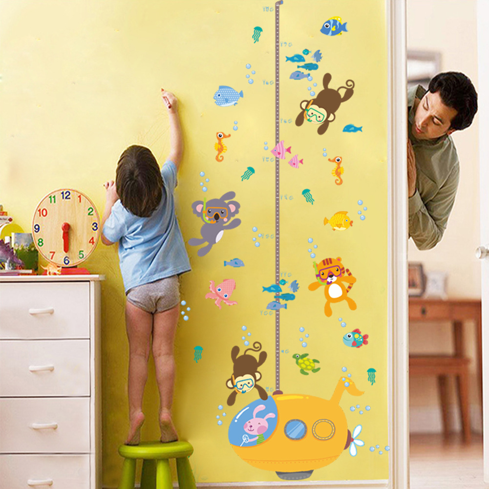 Colorful Kindergarten School Wall Decoration Inspiration - All About ...