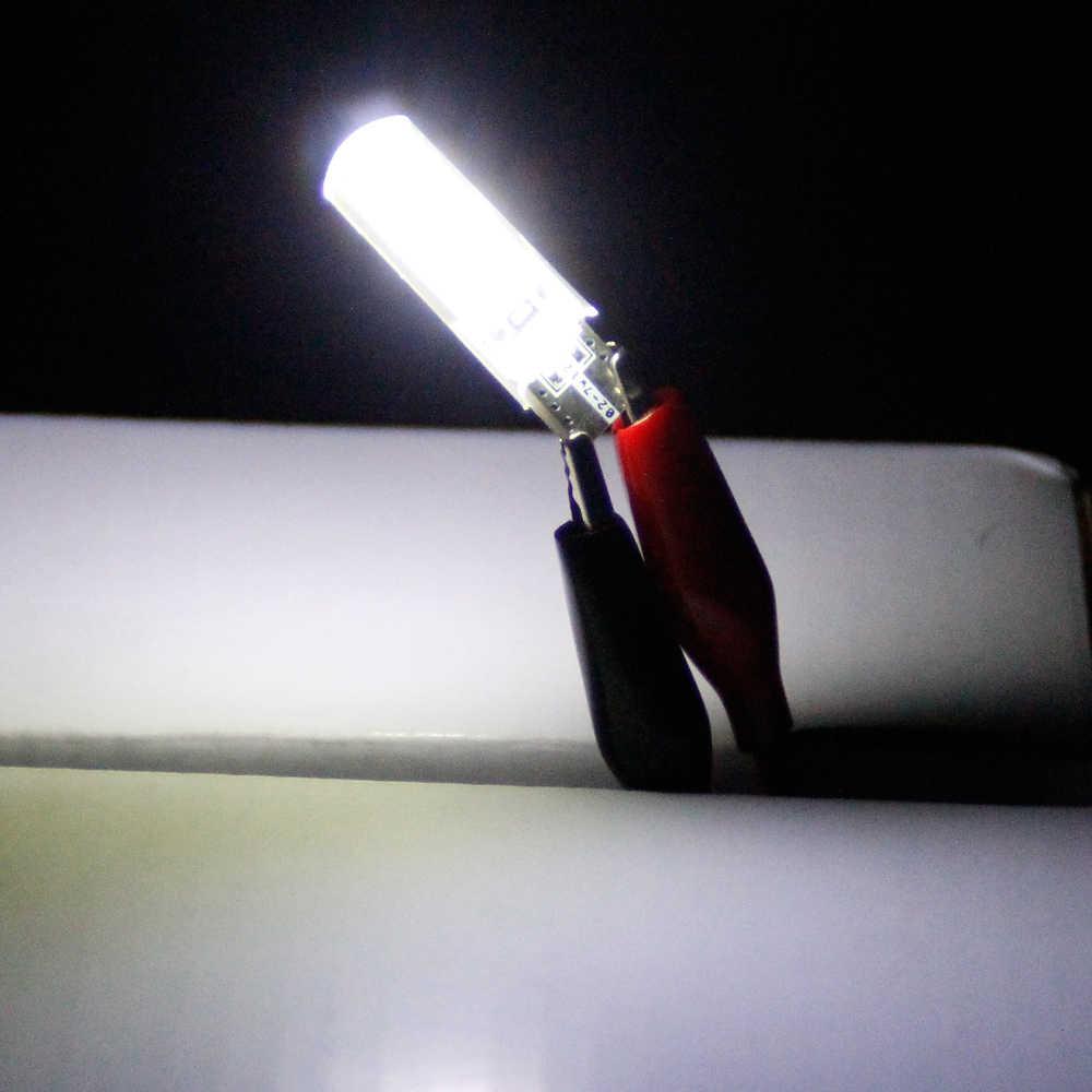 12 Pcs Auto 6 T10 SMD Led 194 W5W LEVOU 168 Carro Super Brilhante Virada Lado Da Placa de Licença LEVOU Luz lâmpada Lâmpada 6000 K 12 V Branco Frio