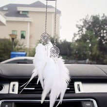 Dream catcher Feather Wind Chimes Handmade Ethnic Style Dream catcher Net for Wall Hanging Car Home Decor Gift