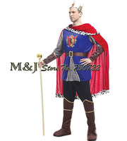 Adult king princes costumes Halloween costume for cosplay role playing stage props
