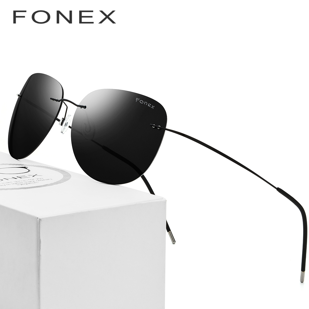 2bf68ae0eee Detail Feedback Questions about Polarized Rimless Sunglasses Men Ultralight  oculos de sol feminino Hot Screwless Frameless Titanium Alloy Sun Glasses  for ...