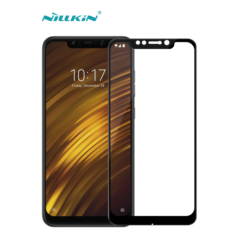Full Cover Tempered Glass For Xiaomi Pocophone F1 Nillkin