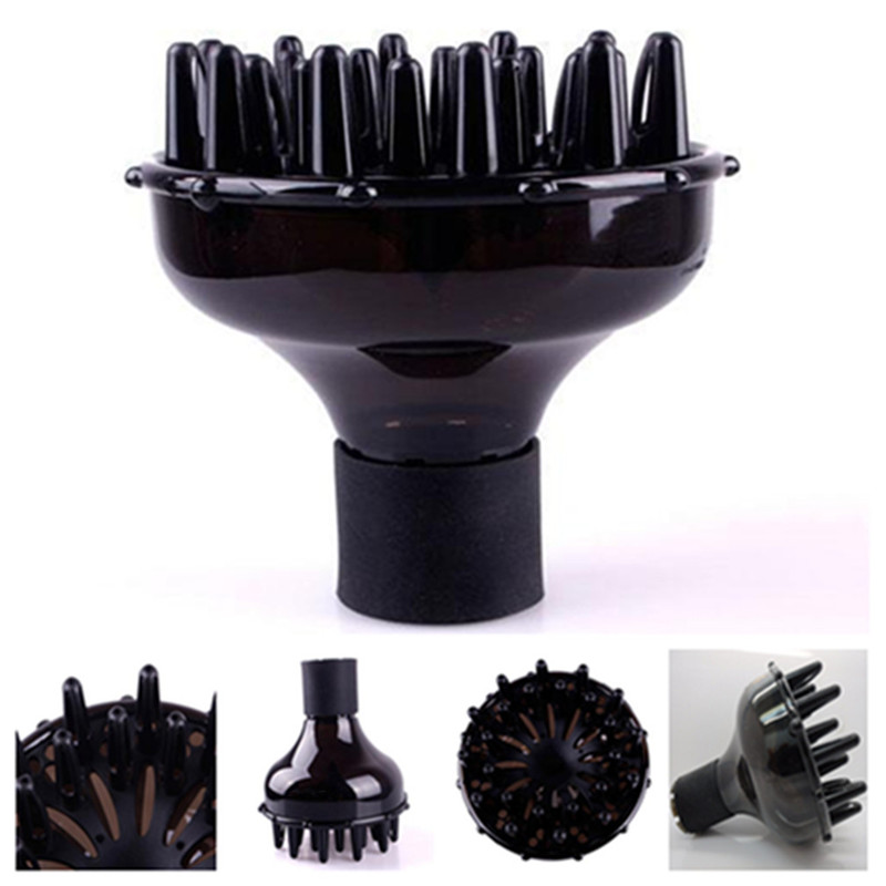 new Professional Hair Styling Accessories Curl Dryer Diffuser Gale Wind Mouth Cover