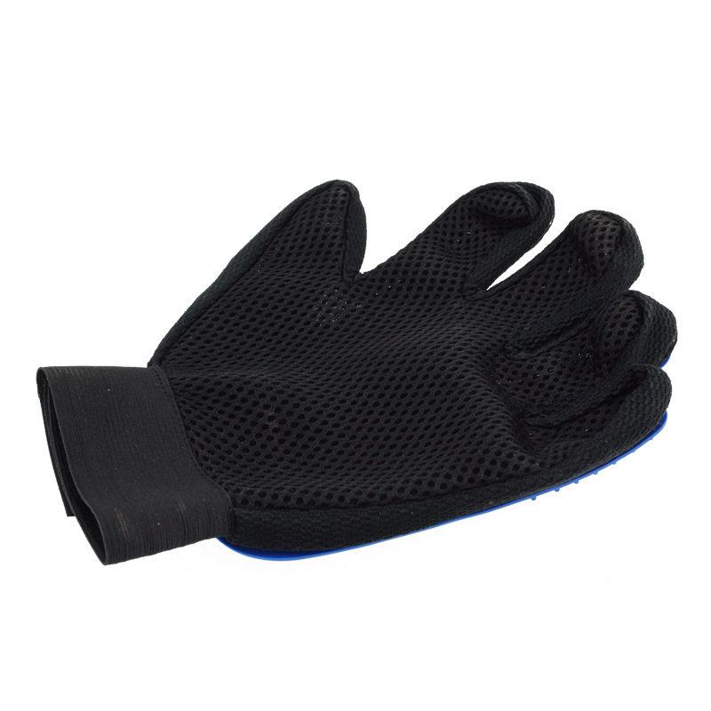Five Fingers Pet Grooming Gloves for Cleaning and Removal of Dogs and Cats Hair Made of Rubber Useful for Animal Bathing 22