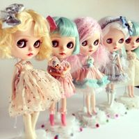 Factory Neo Blyth Doll Customized Matte Face,1/6 BJD Ball Jointed Doll Blyth Dolls for Girl,Reborn Baby Born Toys for Children B