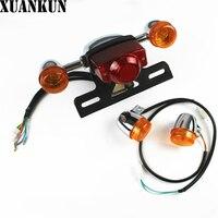 XUANNKUN دراجات نارية سيارات كهربائيّة الجبهة بدوره أضواء وامض أضواء الخلفية قطع تجميع|parts motorcycle|parts lightparts car -