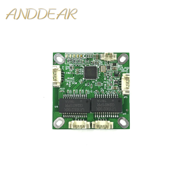 Mini PCB anahtar modülü PCB OEM modülü mini size3Ports Ağ Anahtarları PCB kartı mini ethernet anahtar modülü 10/100 Mbps OEM/ ODM