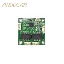 Mini módulo PBC PBCswitch módulo OEM mini size3Ports Switches de Rede Pcb Board mini módulo de switch ethernet 10/100 Mbps OEM/ODM