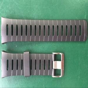 "Image 1 - מקורי 22 מ""מ שחור סיליקון גומי שעון רצועה עמיד למים ספורט צפו בנד עבור WristsWatch Spovan מנהיג 2/SPV709/ SPV710"