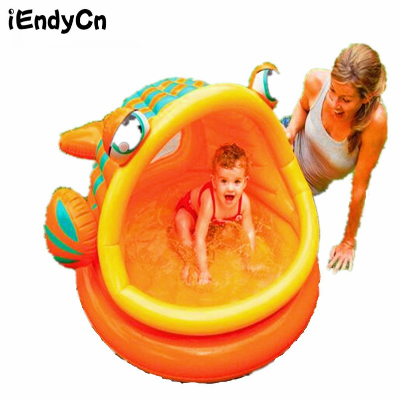 Big fish inflatable swimming pool Baby tub ocean ball pool ball pool LMY918LL bestway fisher цена дети надувные ocean pool детские игрушки pool 91x25cm bobo pool 93501