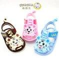 Lovely design 1 par verão dos desenhos animados do bebê sandálias menina / menino primeiros caminhantes, Super qualidade sapatos toddle, Sandálias de moda infantil