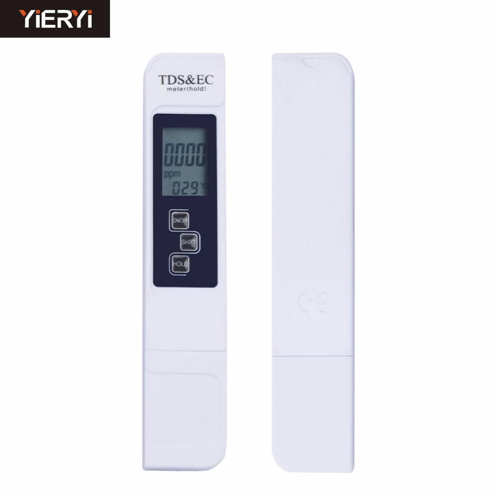 50pcs 3 IN 1 Digital TDS Meter&Temperature&Electrical Conductivity EC Meter-in PH Meters from Tools    1