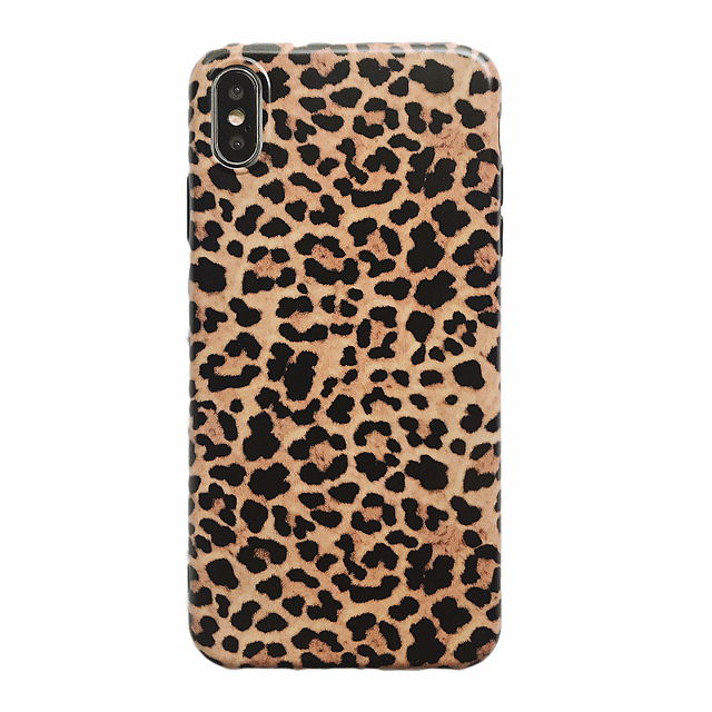 Leopard Phone Case For iphone - Luxury Soft Cases Matte Capa 5