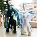Limited Edition Плюшевые Мультфильм Животных Пони Модель Игрушки 35 СМ мой радуга лошадь Принцесса Пони Дети Плюшевые Игрушки