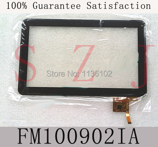 (Ref:FM100902IA) Original 10.1 inch touch screen digitizer glass touch panel fm100902ia Free shipping 5Pcs/lot
