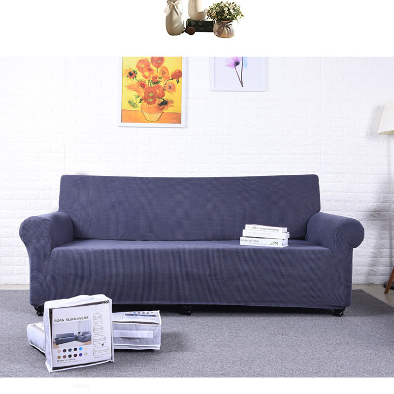 SRYSJS Solid Color Sofa Cover Big Elasticity Stretch Couch Cover Loveseat Sofa Corner Sofa Towel Furniture Cover 1/2/3/4 Seater