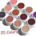 20 Colores Individual Mate Monocromática Sombra de Ojos Duradero Resistente Al Agua de Maquillaje de Ojos Sombra de ojos de Larga Duración Naturales