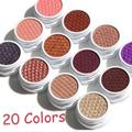 20 Colors Single Matte Eye Shadow Durable Waterproof Monochromatic Makeup Eye Shadow Eyeshadow Long Lasting Natural