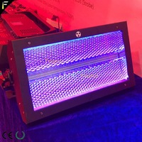 Atomic 3000 LED Strobe Aura RGB Color Wash Light Stroboscope Flash Fixture 3/4/14channel with 228*3W white LED & 64*0.6W RGB LED