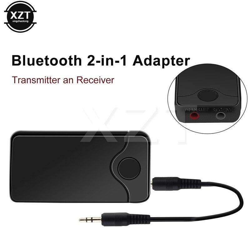 Verantwortlich B18 Wireless Adapter Hifi Audio Mit 3,5 Mm 2in1 Bluetooth Sender Empfänger Audio Eingang Und Ausgang Für Tv Bluetooth Sender Jahre Lang StöRungsfreien Service GewäHrleisten Unterhaltungselektronik