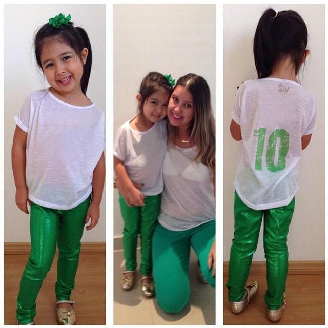 2016 Hot Fashion Kids Baby Girls Solid Street Skinny Metallic Tight Pants Trousers 6 X -7435