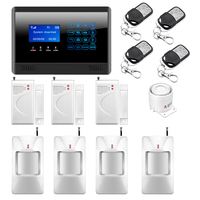 M2BX Wireless Wired GSM SMS Home House Security Inturder Alarm System 3 Door Sensors 4 Motion