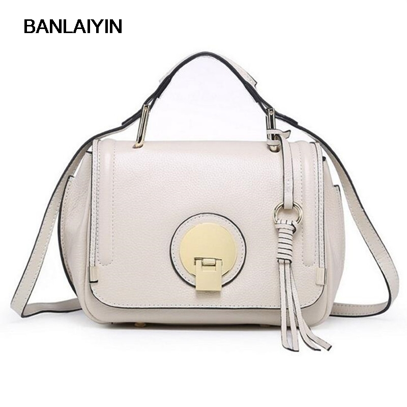 Fashion Women Real Genuine Leather Causual Women Handbag Large Shoulder Bags Elegant Ladies Tote Messenger Bag zency fashion women real genuine leather casual women handbag large shoulder bags elegant ladies tote satchel purse bolsa 2017