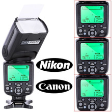 T RIOPO TR-988มืออาชีพS Peedlite TTLกล้องแฟลชกับ*ความเร็วสูงSync *สำหรับCanonและNikonกล้องดิจิตอลSLR TR988 TR-988