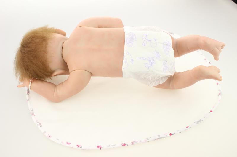new arrival 2018 good quality women 39 s gift for children toy soft silicone vinyl reborn baby full body dolls girls 58cm npk bebe in Dolls from Toys amp Hobbies