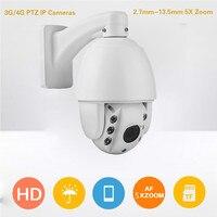 1080P HD 4G Wireless PTZ cameras P2P smartphone control 4G wifi IP CCTV cameras 2MP 3G /4G ONVIF wireless IP cameras