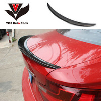 P style F22 F23 Carbon Fiber Rear Wing Spoiler for BMW 2 Series F22 Coupe & F23 Convertible & F87 M2 218i 220i 228i M235i 2014+