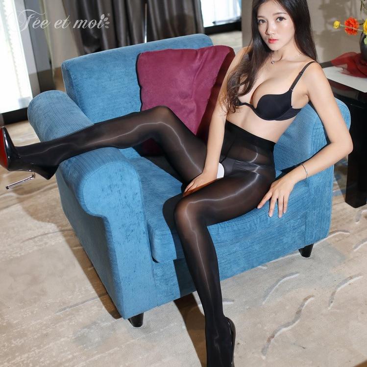 Shiny pantyhose hd