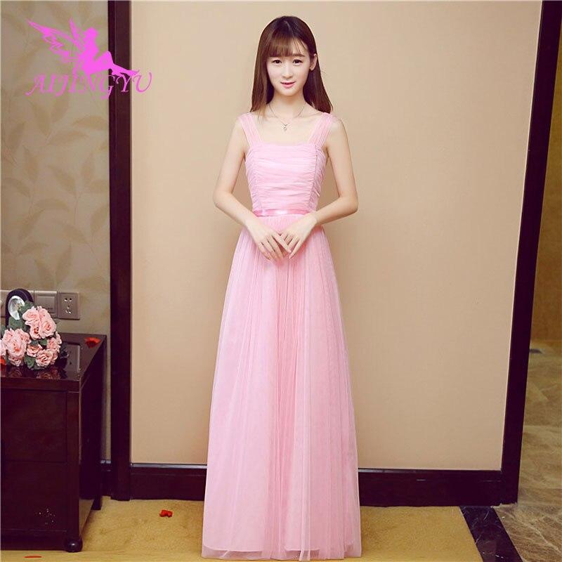 AIJINGYU 2018 hot plus size bridesmaid dresses short wedding party dress