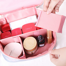 Neceser Waterproof Women Makeup Bag