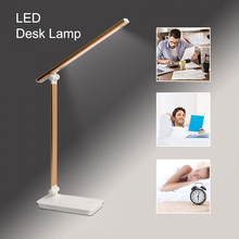 цена на LED Desk Lamp Folding Table Light 3-Level Brightness Adjustable Soft Touch Dimmer Eye Care Office Task Lamp for Reading Study