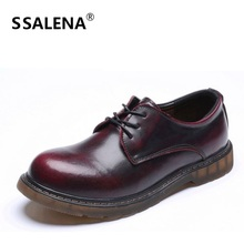 Vintage Men Casual Shoes Round Toe Fashion Men Leather Shoes Male Anti—slip Retro Working Shoes Size 38-44 AA30064