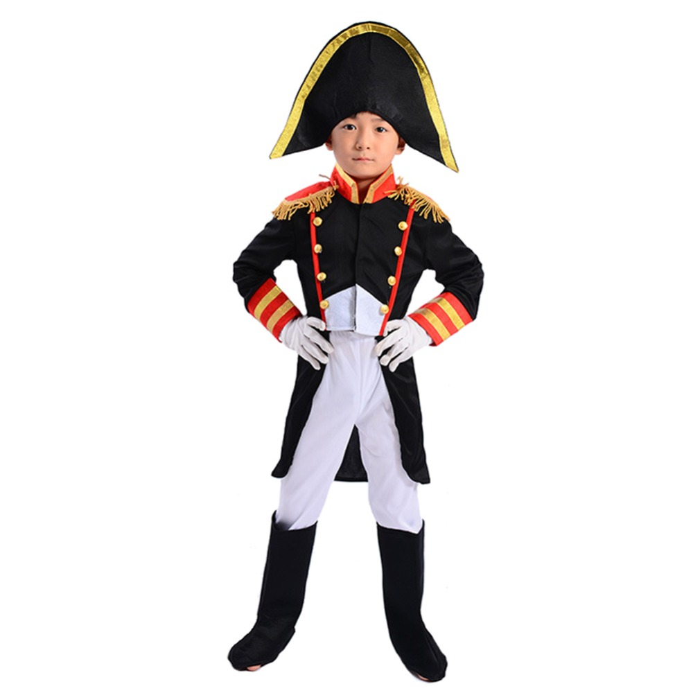 Kids Boys Captain Jack Pirate Costume Outfit Halloween Party Fancy Dress Set ...
