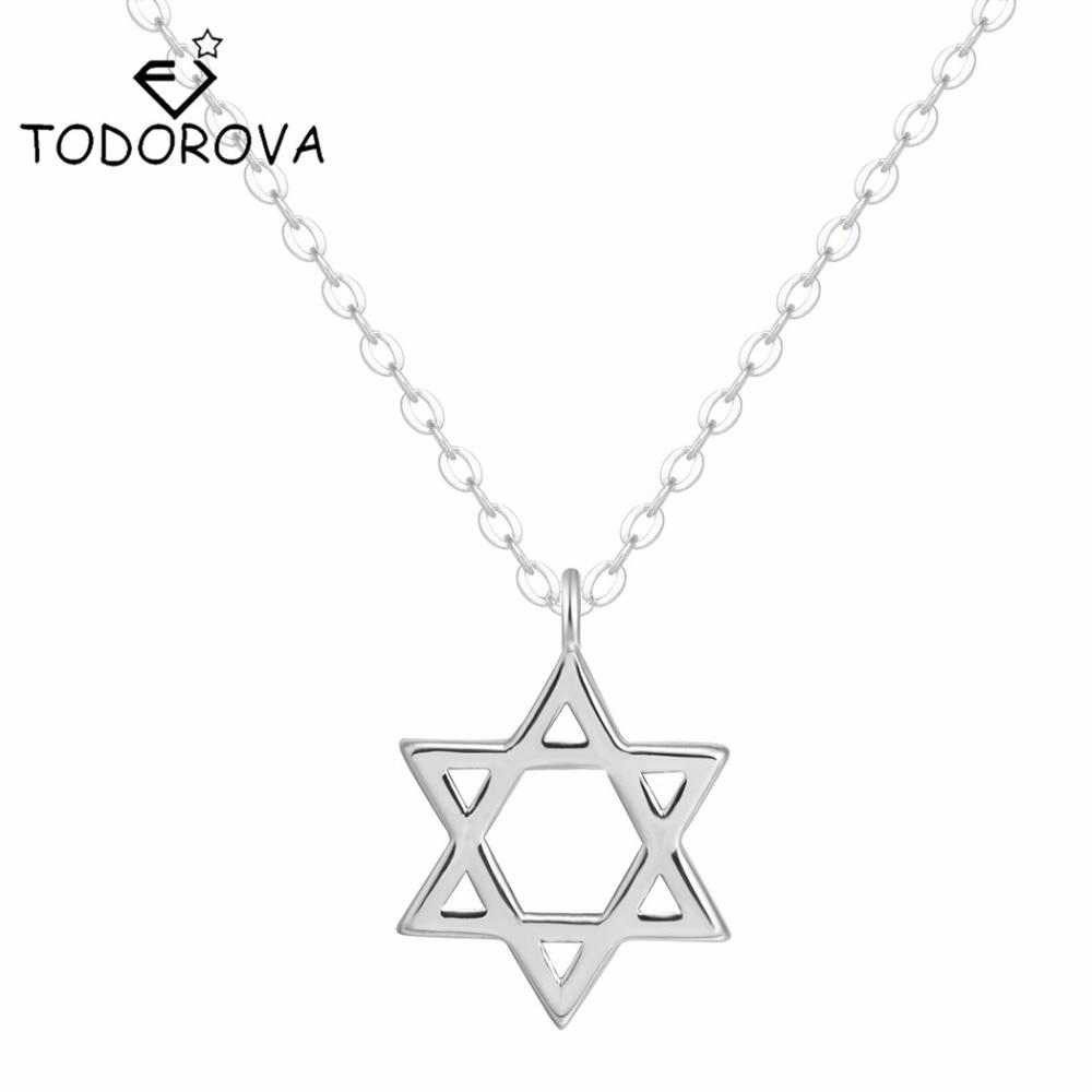 dd45f9c7e545c Black Obsidian Hexagram Necklace Star of RongDe Pendant Lucky Love ...