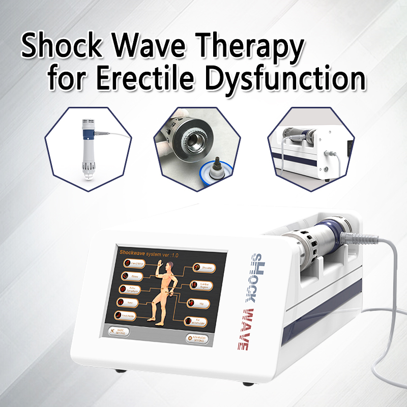 Protable Extracorporeal Shock wave Therapy for Erectile Dysfunction Demonstrated and Reduce body pain and sports injuryProtable Extracorporeal Shock wave Therapy for Erectile Dysfunction Demonstrated and Reduce body pain and sports injury
