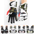 Free shipping GP PRO Top Racing Genuine Leather Gloves Off Road Racing Men Gloves Driving Motorcycle MOTO GP Gloves 16 Models