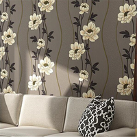 beibehang 3D stereos pressure pastoral wallpaper American country non woven bedroom living room TV background wall paper