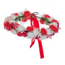 Women Flower Crown Wreath