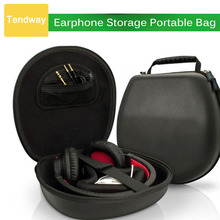 Earphone Storage Portable Bag EVA Headphone Carry Case Headset Pouch Headset Accessories Headphone Box