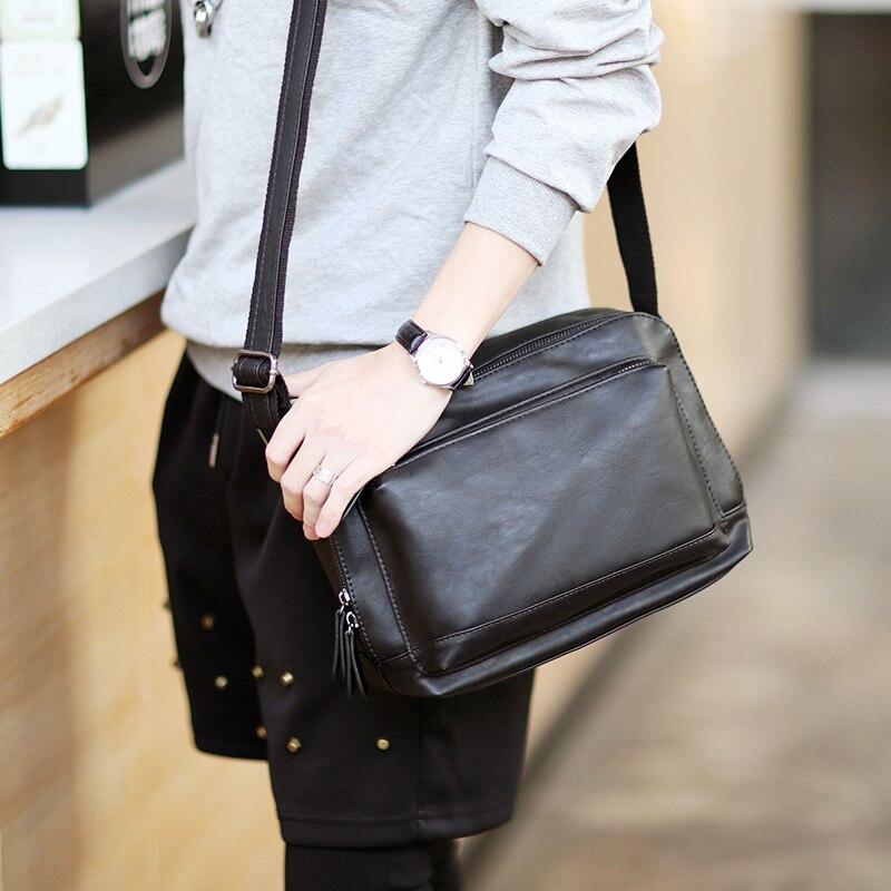 Tidog Korean version of the original male travel shoulder bag