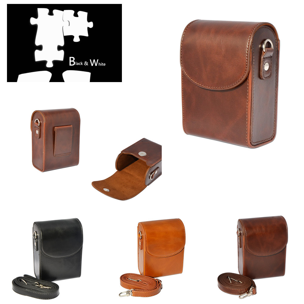 Camera Bag Leather Case For Canon Powershot G9x II G7x III II G9XM2 G7XM2 G7XM3 SX740 SX730 SX720 SX710 SX700 SX620 SX610 SX600