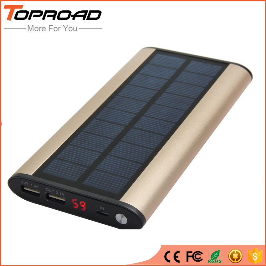 bilder für Tragbare solar-ladegerät power bank 16000 mah camping powerbank externe batterie lade bateria externa für iphone 6 s samsung s7