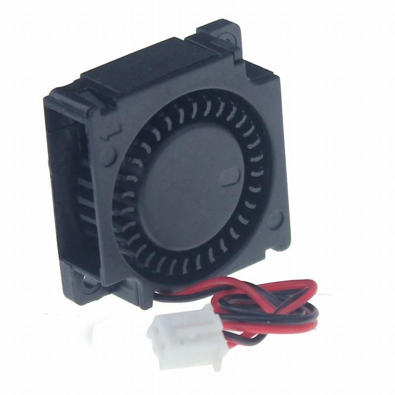 1 piece Gdstime DC Mini Cooling Fan 30mm Blower Fan 5V 3cm Ball Bearing 30x30x10mm 3010B 3D Printer nmb 3610kl 05w b49 9225 24v 3 wire cooling fan blower