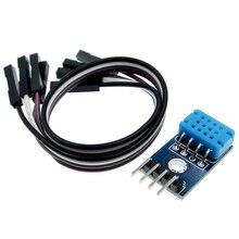 10 ピース DHT12 モジュールデジタル温度と湿度センサー単一のバスと I2C 通信 DHT11 と互換性